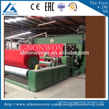 A.L 4500mm needle punching carpet production line with high quality