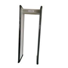 Six zones airport metal detector