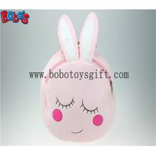 """11.8 """"розовый кролик детский рюкзак мультфильм изображение Bos1229 / 30cm"""
