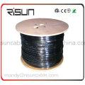 Двойная куртка (полиэтилен+ПВХ) кабель UTP cat5e кабель локальной сети с 305м