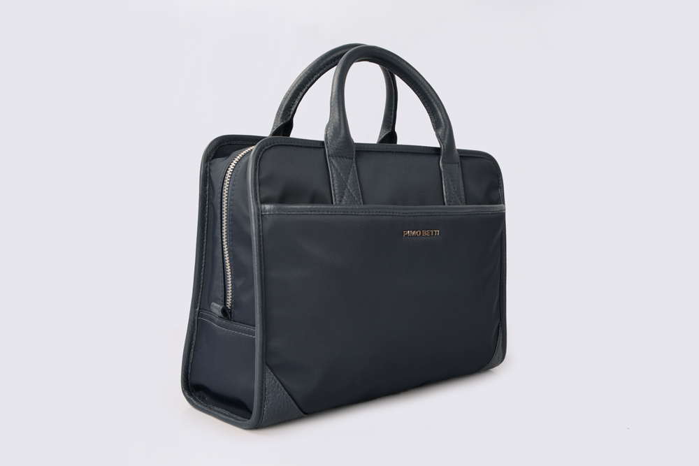 Top Handle Business Bag Lightweight Water Resistant Nylon Handbags Tote Purses Briefcase for Male