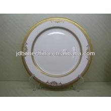 Wedgwood 2014 embossed gold style Australien style expresso tasse coutellerie table de vaisselle table en porcelaine set