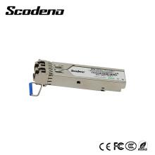 Module optique du mode unitaire 1310nm 20Km RJ45 de l'application 1.25G Gpon SFP de Scodeno