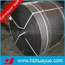 Antistatique ignifuge, bande de convoyeur de corde en acier pour tunneling