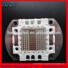 высокой интенсивности 100W высокой мощности RGB многоцветный светодиодный компонент с сертификатом RoHS и CE