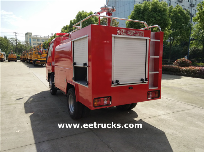 Emergency Fire Truck