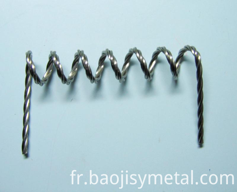 pure twisted tungsten wire