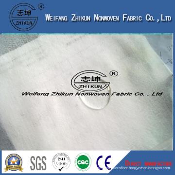 White Color PP Hydrophilic Diaper Using Nonwoven Fabric