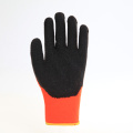 Latex coated polyester working gloves