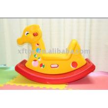 Colorido pato plástico Swing para crianças