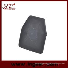 Painel plástico de SAPI tático Wargames interno para combate colete
