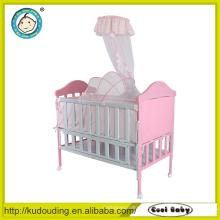 China atacado dobrável camas do bebê