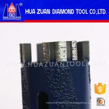 Broca turbo de 35 mm con núcleo de diamante para granito