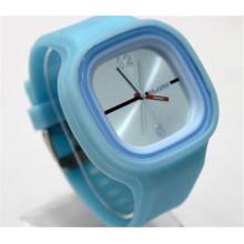 Yxl-996 Reloj caliente del reloj del cuarzo de la marca de fábrica del reloj de la jalea del reloj del deporte del silicón de las mujeres de los relojes de la nueva llegada de la manera 2016