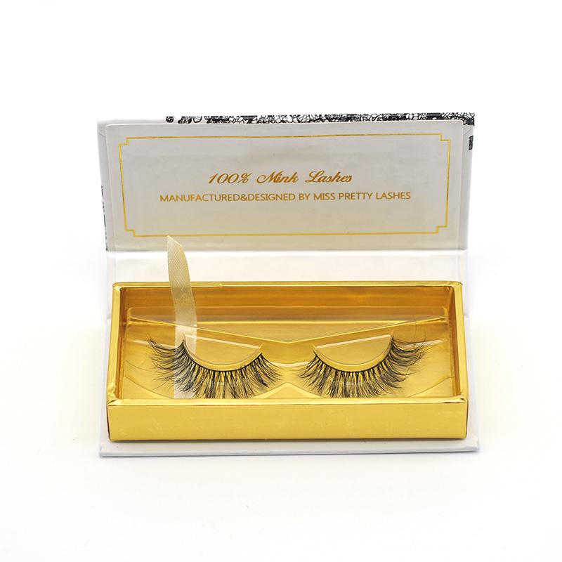 Bandless 3D Mink Eyelashes