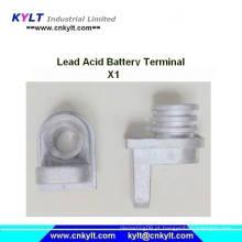 Terminal de chumbo X1 da bateria de ácido-chumbo Die Casting Machine