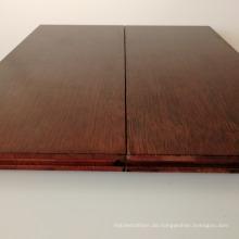 Der beste weiße weiße horizontale Bambusbodenbelag des Hauptdekorationswahl-Hochglanzes