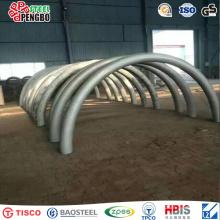 Tubulação de aço estrutural de aço inoxidável frente e verso de ASTM A240 / 480 para a ponte