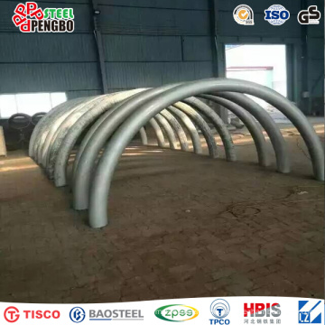 ASTM A240/480 Duplex Stainless Steel Structural Steel Pipe for Bridge