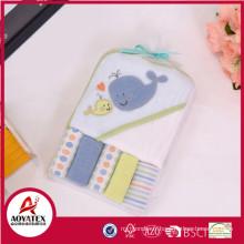 Serviette de hotte de bébé super mignon et doux, serviette à capuchon de bébé animal, serviettes à capuchon pour les animaux des enfants