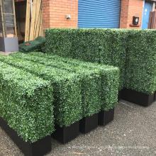 Bestseller 3-5 Jahre Garantie langlebige künstliche Buchsbaum Pflanzer für Decks