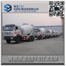 North Benz 10 Wheeler 7 Cbm Cement Mixer Truck