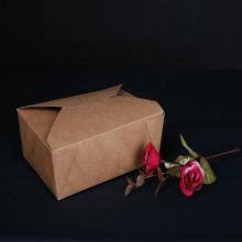 Emporter des boîtes d'emballages alimentaires enduites de PE