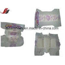 Upgrade Breathable Disposable Baby Diaper with PE Film and PP Tape