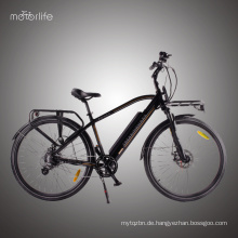 Heißer Verkauf billig 36V250W Stadt E-Bike, Bafang hinten Mitte Laufwerk E-Bike