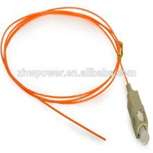 Fibra de fibra óptica sc pigtail, 3.0m Fibra Pigtail, SC PC Multi Modo 0.9mm MM 50/125