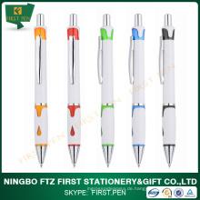 Erste YP153 Günstige Werbeartikel Kunststoff Kugel Kugelschreiber Free Sample FOB Ningbo