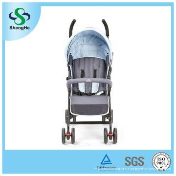 Многофункциональная прогулочная коляска с дождевой крышкой с двойным ножным тормозом (SH-B9)