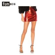 2018 mujeres falda roja falda corta de la manera del partido falda sexy 2018 mujeres falda roja falda corta de la manera del partido falda sexy
