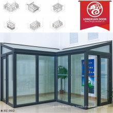Factoy Custom Sun Zimmer, Aluminium Glas Haus, Mode und komfortable Full View House