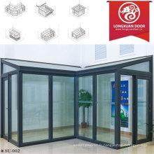 Factoy Custom Sun Room, Maison en verre en aluminium, mode et Confortable Full View House