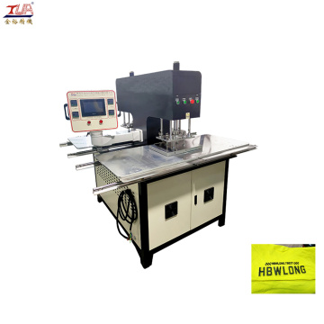 Automation Heating Embossing Machine Mesin logo garmen
