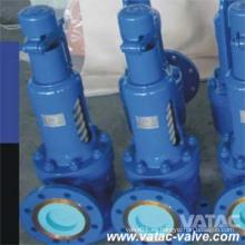 Válvula de seguridad de baja elevación del reborde de Wcb / Lcb del acero de carbono 520 API