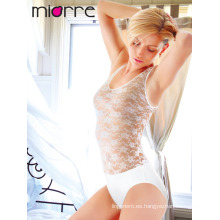 MIORRE SLEEVELESS MUJER BODYSUIT CON LACE & SNAP