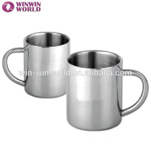 Promotional Insulated Drinkware Double Wall Stainless Steel Travel Mug With Handle