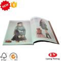Impression de brochures de catalogues de magazines de mode pour enfants