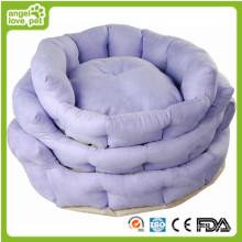 Três tamanho suave confortável cão almofada & cama