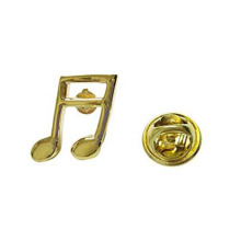Novelty Quaver Nota Musical Note Lapel Pins