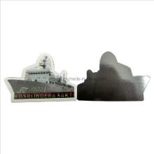 Imán del refrigerador de Custompvc con la forma de la nave (FM-08)
