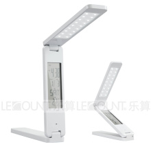 Portable & Foldable & Rechargeable LED Table Lamp with LCD Calendar (LTB762)