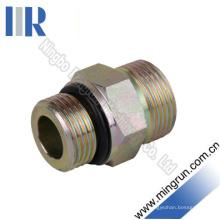 Mamelon hydraulique d'adaptateur de joint torique Bsp / SAE (1BO)