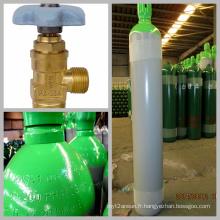 Cylindre de gaz à argon synthétique à haute pression 50L (EN-ISO9809-1)