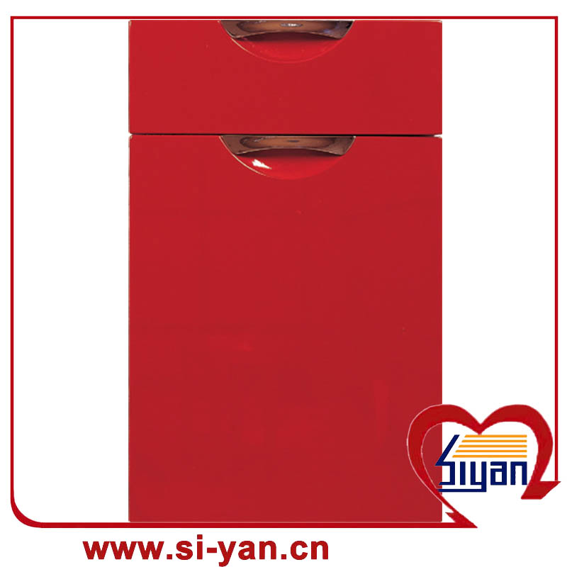 China-PVC-Folie gegenüber Küchenschrank Tür Preis Hersteller