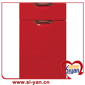 Pvc film faced kitchen cabinet door price