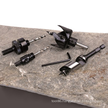 "Holesaw Accessories Tools HSS OEM Holesaw Arbors 3/8"" Shank Suit"