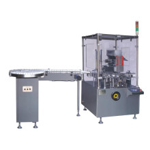 Automatic vertical bottle cartoning machine